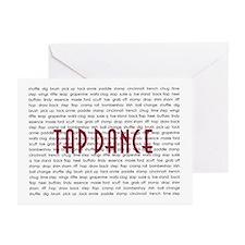 Tap Dance Greeting Cards (Pk of 10)