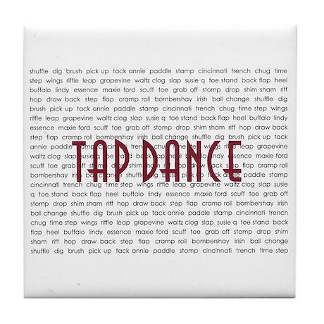 Tap Dance Tile Coaster