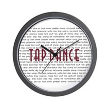 Tap Dance Wall Clock