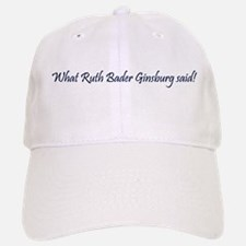 What She Said Baseball Baseball Baseball Cap