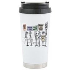 Unique Aliens Travel Mug