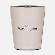 Custom Washington Shot Glass