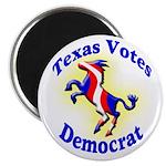 Texas Votes Democrat Magnet
