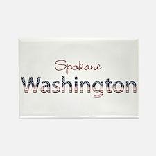Custom Washington Rectangle Magnet