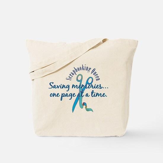 Saving Memories Tote Bag