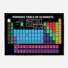 Periodic Table 5'x7'Area Rug