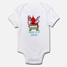 Bathtub Kraken Cartoon Infant Bodysuit