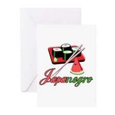 Japanegro Greeting Cards (Pk of 10)