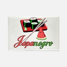 Japanegro Rectangle Magnet