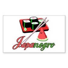 Japanegro Rectangle Decal