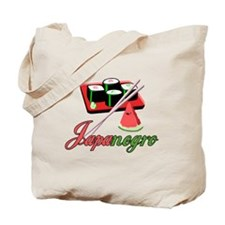 Japanegro Tote Bag