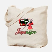 Japanegro Tote Bag