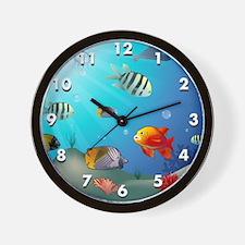 seaworld3 Wall Clock