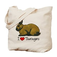 I Heart Thuringers Tote Bag