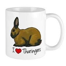 I Heart Thuringers Mugs
