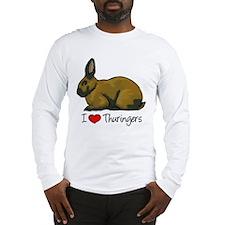 I Heart Thuringers Long Sleeve T-Shirt