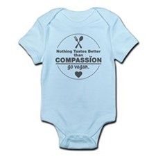 Vegan Nothing Tastes Better Than C Infant Bodysuit