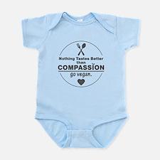 Vegan Nothing Tastes Better Than C Infant Bodysuit