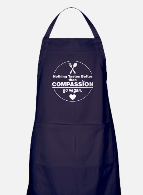 Vegan Nothing Tastes Better Than Comp Apron (dark)