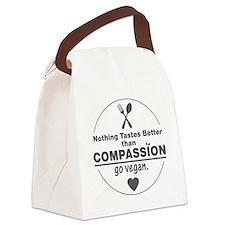 Vegan Nothing Tastes Better Than Canvas Lunch Bag