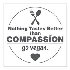 """Nothing Tastes Better Th Square Car Magnet 3"""" x 3"""""""