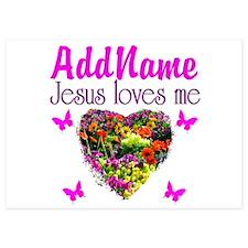 JESUS LOVES ME Invitations