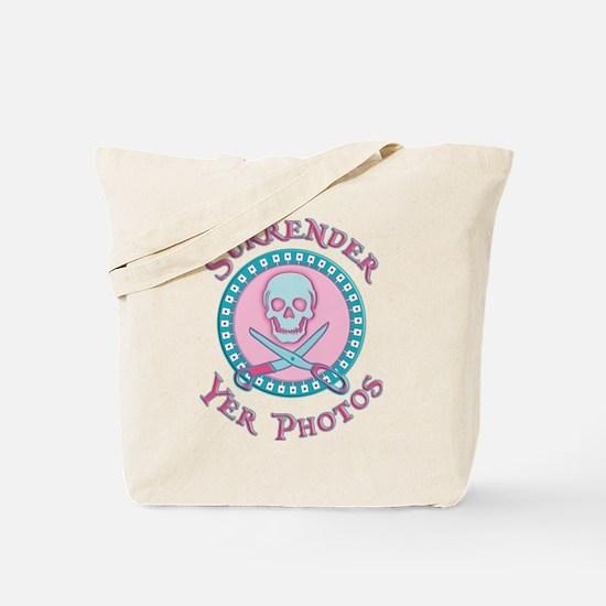 Surrender Yer Photos Tote Bag