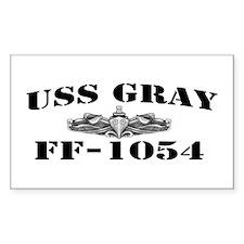 USS GRAY Decal