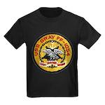 USS GRAY Kids Dark T-Shirt