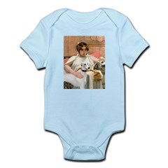 Cleopatria & her Whippet Infant Bodysuit