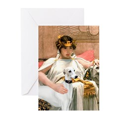 Cleopatria & her Whippet Greeting Cards (Pk of 10)