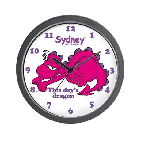 Sydney: This day's dragon Wall Clock
