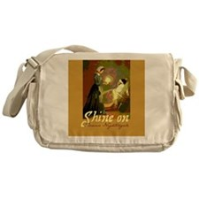Florence Nightingale With Lamp Messenger Bag