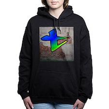 GRAFFITI #1 T Women's Hooded Sweatshirt