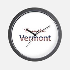 Custom Vermont Wall Clock