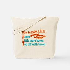 Funny Bacon BLT B.L.T. Sandwich Tote Bag