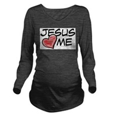 me.png Long Sleeve Maternity T-Shirt