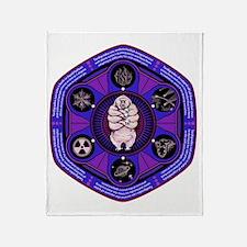 Tardigrade Strong Throw Blanket