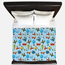 Baby Airplane King Duvet