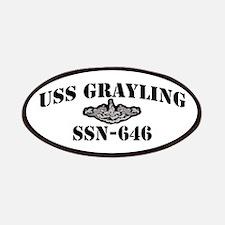 USS GRAYLING Patch
