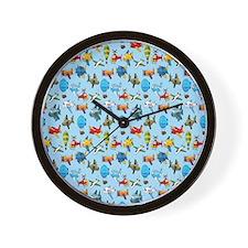 Baby Airplane Wall Clock