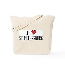 I Love St. Petersburg Tote Bag