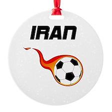 Funny Football coach Ornament