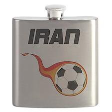 Cute Soccer fans Flask