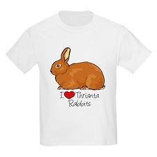 I Heart Thrianta Rabbits T-Shirt