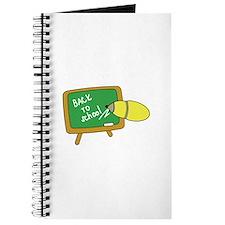 Back To School Chalk Board Journal