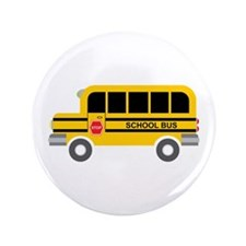 "School Bus Transportation 3.5"" Button (100 pack)"