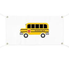 School Bus Transportation Banner