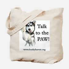Cute Huskies Tote Bag