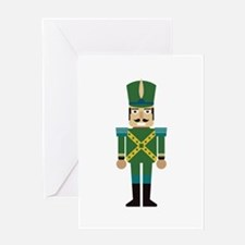 Toy Soldier Christmas Decoration Greeting Cards